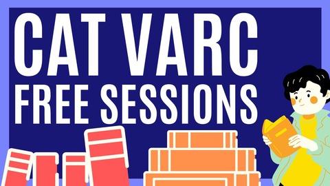 CAT VARC FREE SESSIONS