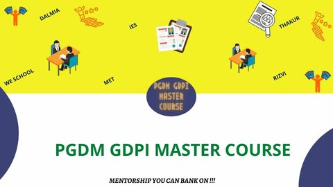 PGDM GDPI MASTER COURSE