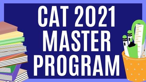 CAT 2021 MASTER PROGRAM