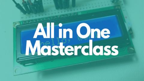 Master Class: Electronics Design, Arduino, Raspberry Pi, IoT, Node-red, 8051, AVR
