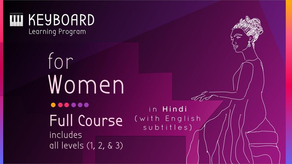 Keyboard Learning Program for Women
