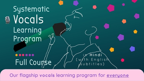 Systematic Vocal Learning Program