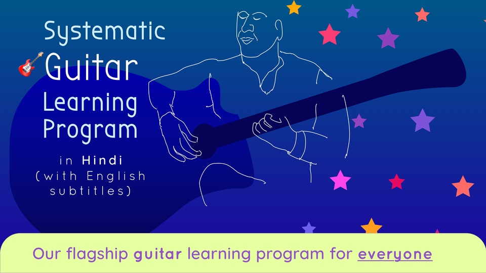 Systematic Guitar Learning Program