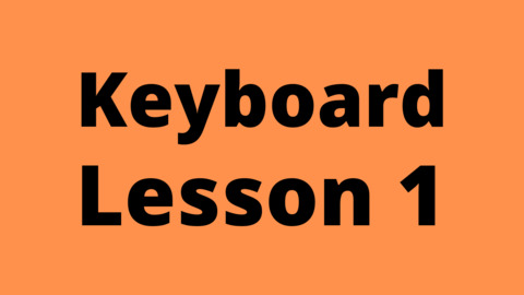 Keyboard Lesson 1: Swars and Alankaars