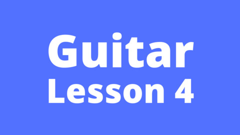Guitar Lesson 4: Simple understanding of octaves