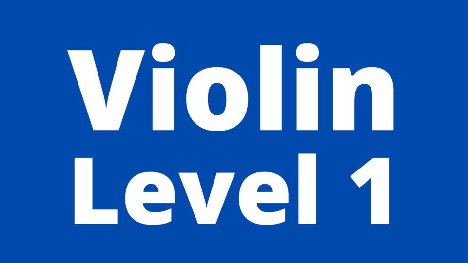 Violin Level 1